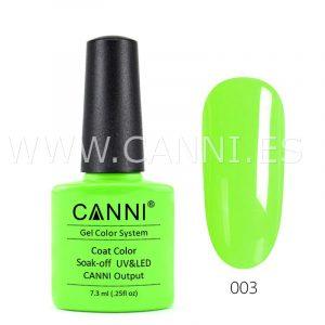 Esmalte permanente gel verde neon