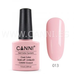 canni esmalte permanente rosa claro uv led