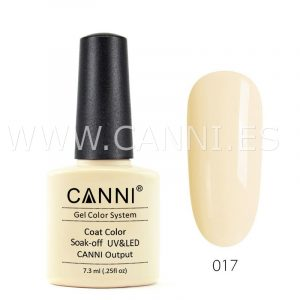 canni esmalte permanente color crema uv led