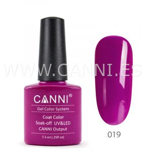 canni esmalte permanente fucsia oscuro uv led