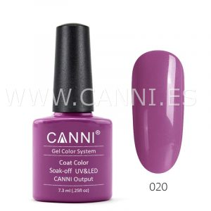canni esmalte permanente morado encantado uv led
