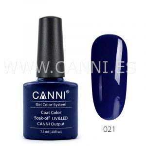 canni esmalte permanente azul marino gris oscuro uv led