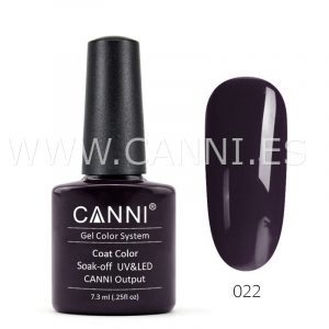 canni esmalte permanente chocolate negro uv led