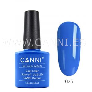 canni esmalte permanente azul azur uv led