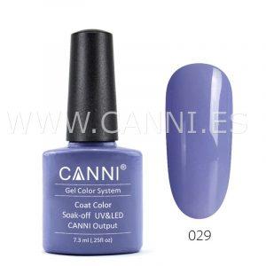 canni esmalte permanente azul púrpura pálido uv led