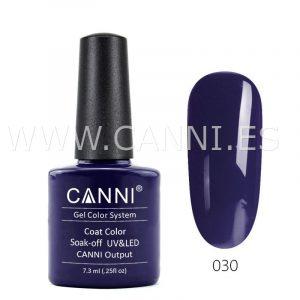 canni esmalte permanente azul púrpura oscuro uv led