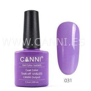 canni esmalte permanente lila claro uv led