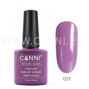 canni esmalte permanente violeta grisáceo uv led