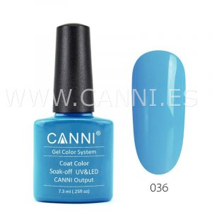 canni esmalte permanente turquesa azul uv led