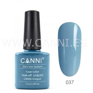 canni esmalte permanente gris azulado uv led