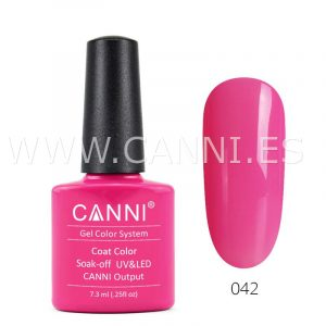 canni esmalte permanente magenta oscuro uv led