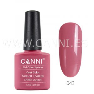 canni esmalte permanente rosa intenso pálido uv led