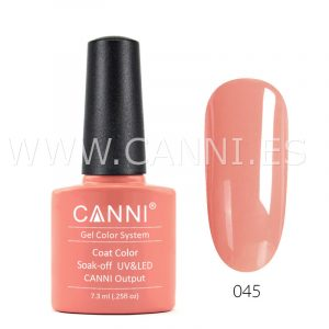 canni esmalte permanente salmón claro uv led