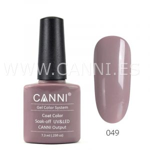 canni esmalte permanente caqui gris uv led