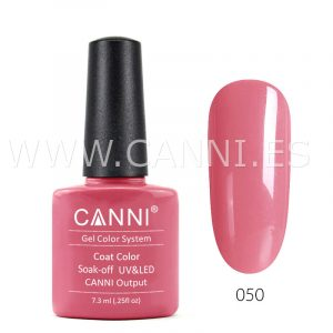 canni esmalte permanente rosa saturado uv led