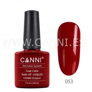 canni esmalte permanente pimiento rojo uv led