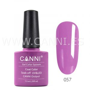 canni esmalte permanente morado elegante uv led