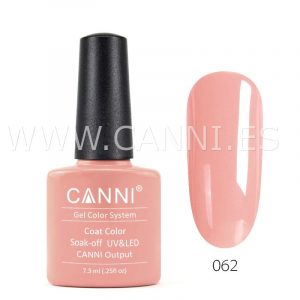 canni esmalte permanente naranja de cadmio natural uv led