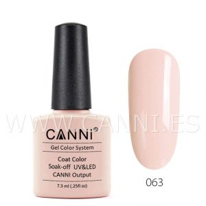 canni esmalte permanente beige cálido uv led