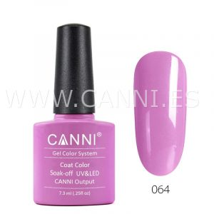 canni esmalte permanente morado lechoso uv led