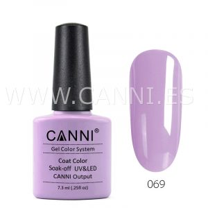 canni esmalte permanente lila suave uv led