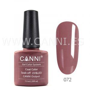 canni esmalte permanente rosa cobre oscuro uv led