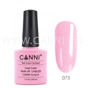 canni esmalte permanente rosa romántico uv led