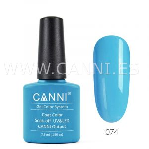 canni esmalte permanente azul fresco uv led