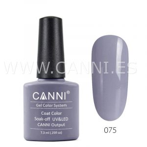 canni esmalte permanente gris acero uv led