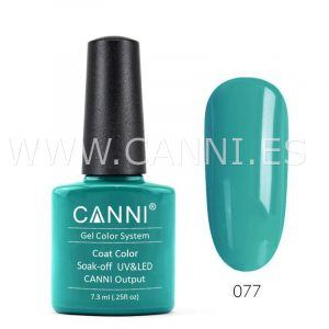 canni esmalte permanente color turquesa uv led