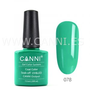 canni esmalte permanente verde de primavera uv led