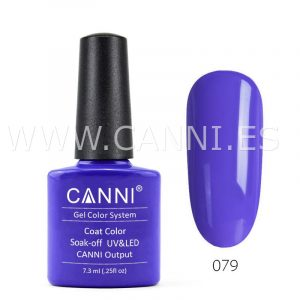 canni esmalte permanente azul real uv led