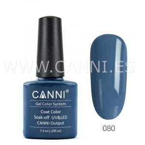 canni esmalte permanente azul acero profundo uv led