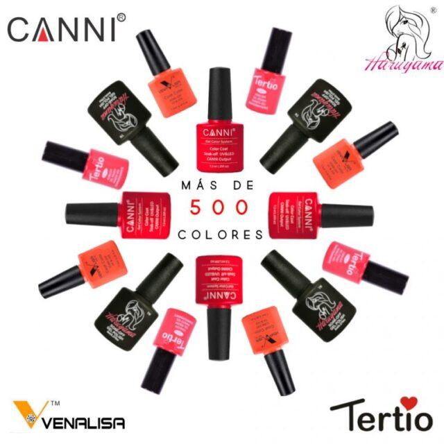 Esmaltes permanentes para uñas CANNI HARUYAMA TERTIO VENALISA